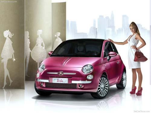 2009 Fiat 500 Barbie Concept. 2009 FIAT 500 BARBIE CONCEPT